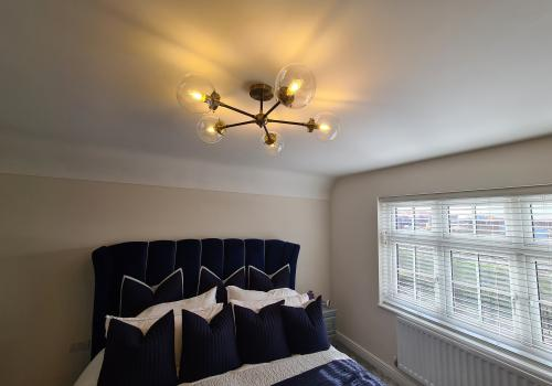 Bedroom Light above bed